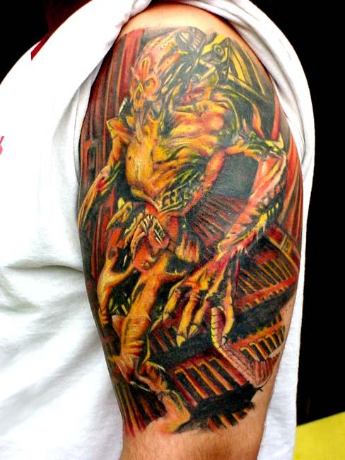 Tattoos - ROBOSKULL - 9862