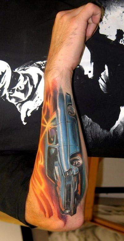 Tattoos - MUSCLE CAR - 31448