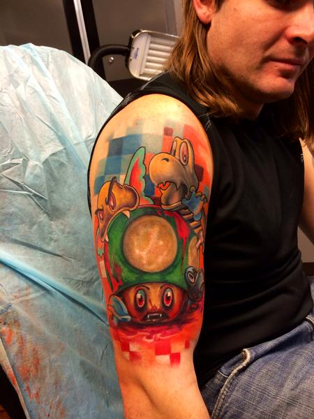 Tattoos - Retro Nintendo - 82388