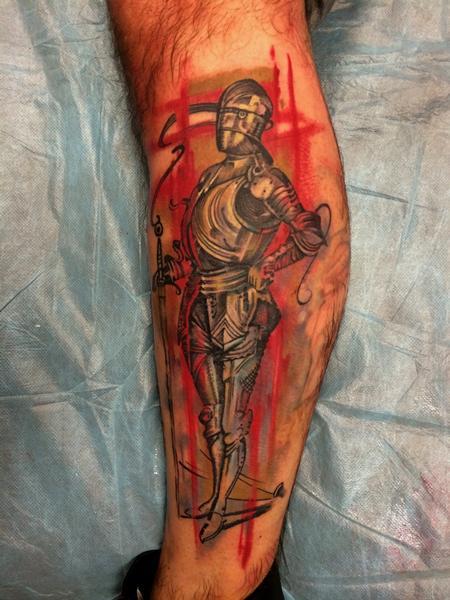 Tattoos - Knight - 91643