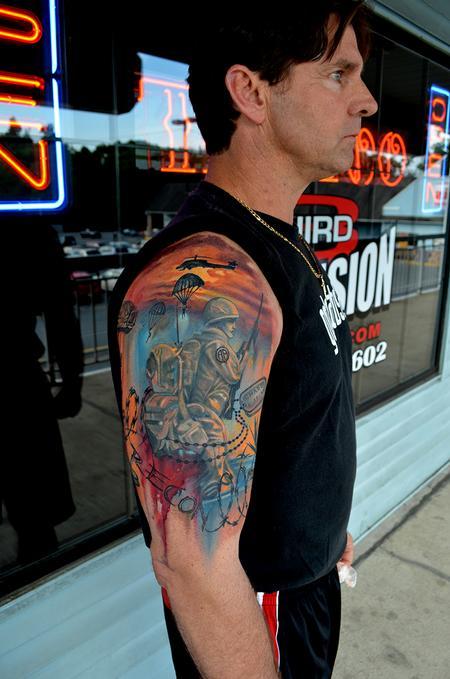 Tattoos - Remebering the fallen - 76829