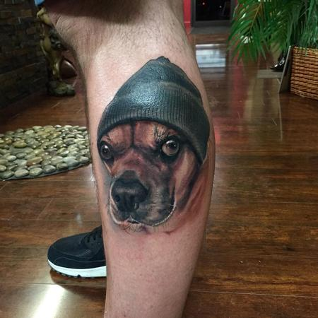 Tattoos - Pugle portrait  - 113821