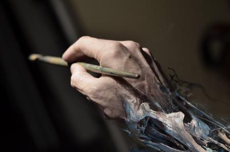 Brian Murphy - The artist hand