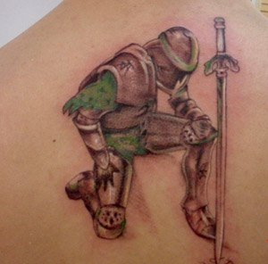 Tattoos - KNIGHT - 11872