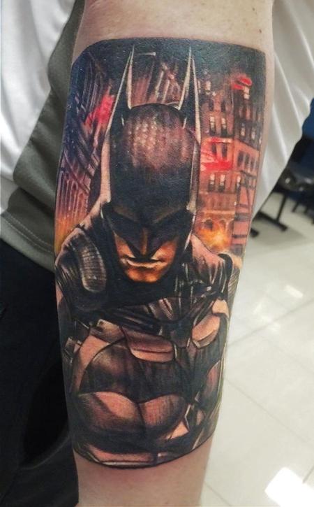 Tattoos - Batman Tattoo - 101738