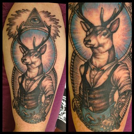 Tattoos - Masonic Inspired Tattoo - 101749