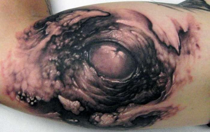 Tattoos - Eye Tattoo - 51109