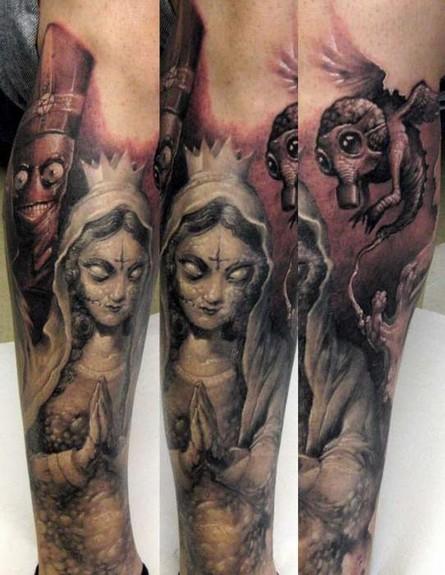 Tattoos - Evil Mary - 51107