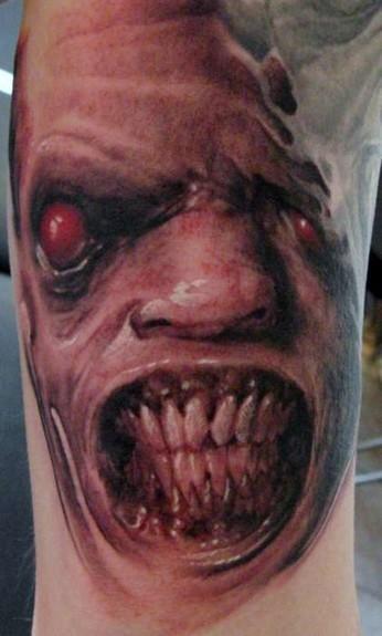 Tattoos - Horror Face - 51060