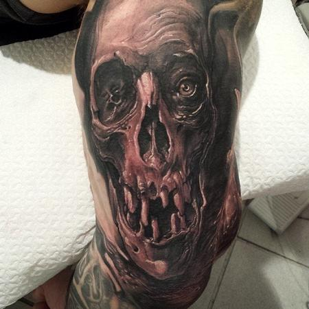 Tattoos - Skull tatto  - 92233