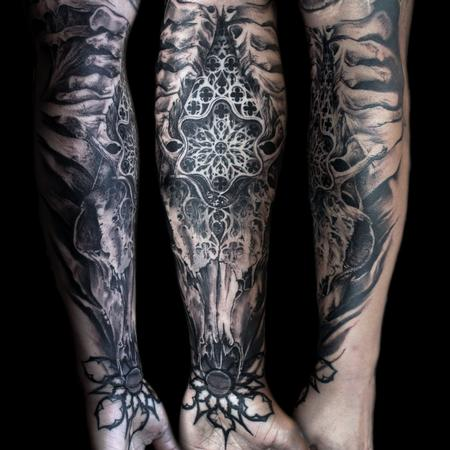 Tattoos - bone church - 125308