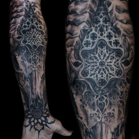Tattoos - bone church - 125309