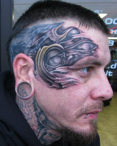 Tattoos - organic face!  - 62290