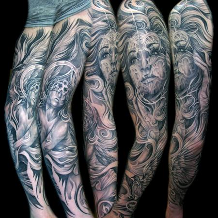Tattoos - cathedral window - 72134
