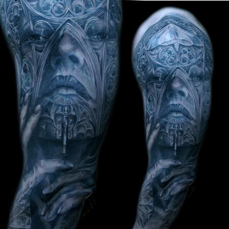 Tattoos - cathedral morph - 108859