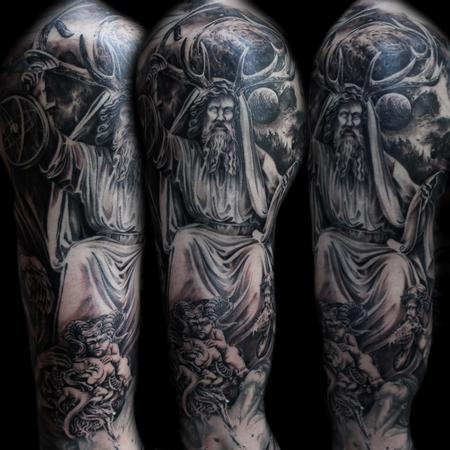 Tattoos - mythology sleeve - 125297