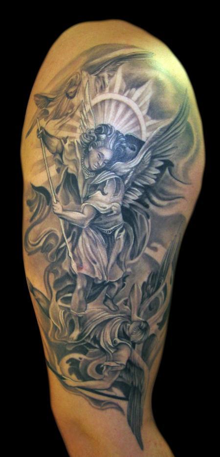 Tattoos - Saint Michael - 62301