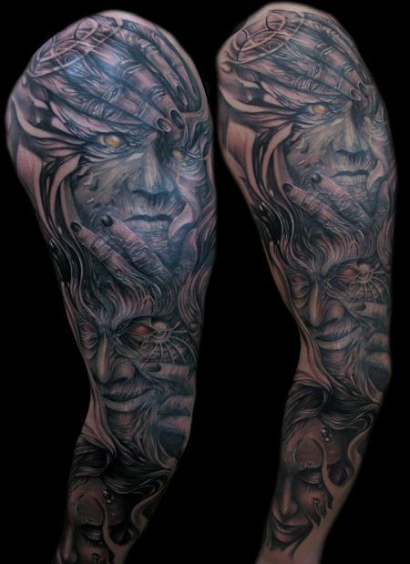 Tattoos - zodiac faces - 66944