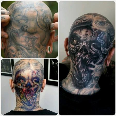 Tattoos - head cover up - 128776