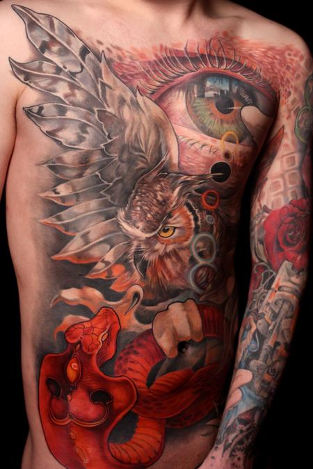 Tattoos - Full Torso - 129566