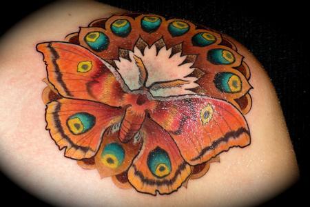 Ben Merrell - moth mandala