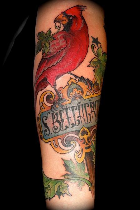 Ben Merrell - maple cardinal