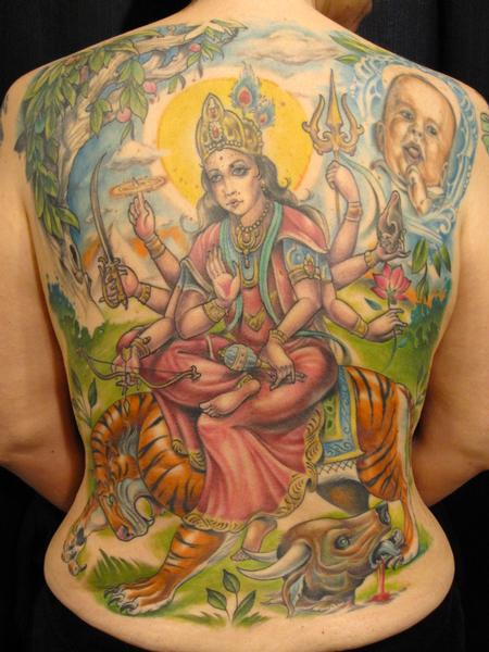 Tattoos - Devi Durga - 60902