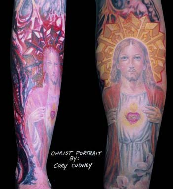 Tattoos - Christ Halo - 14448