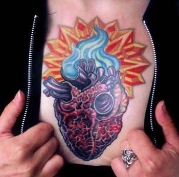 Tattoos - Sacred Heart - 14464
