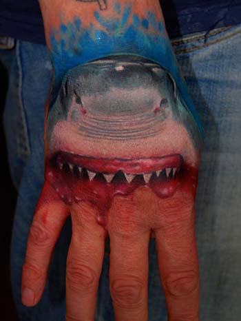 Tattoos - Great White Shark - 28377