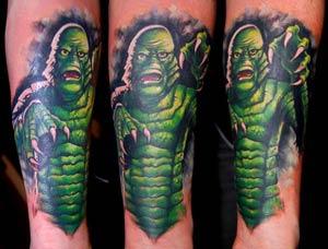 Bez - Creature from the Black Lagoon tattoo