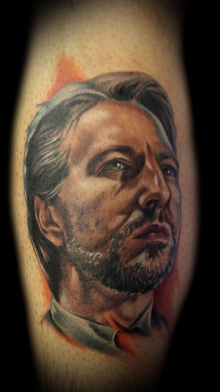 Hans Gruber Tattoo By Kelly Doty Tattoonow