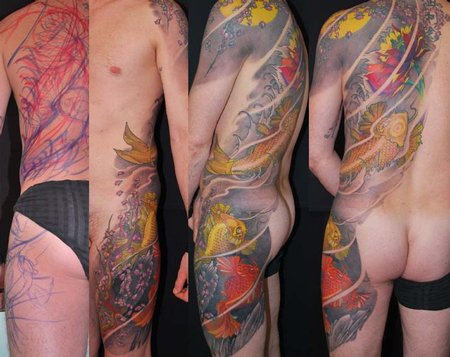 Max Tattoo - Color Koi Fish Tattoo