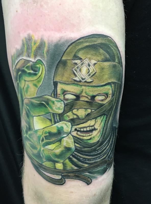 Mortal Kombat Tattoo By Vic Tobon Tattoonow