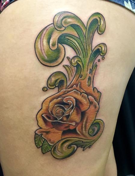 Tattoos - Flower Tattoo - 132963