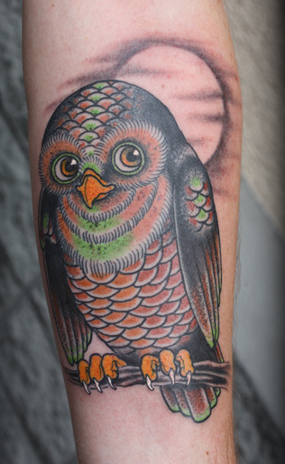 Foerdl - Owl Tattoo