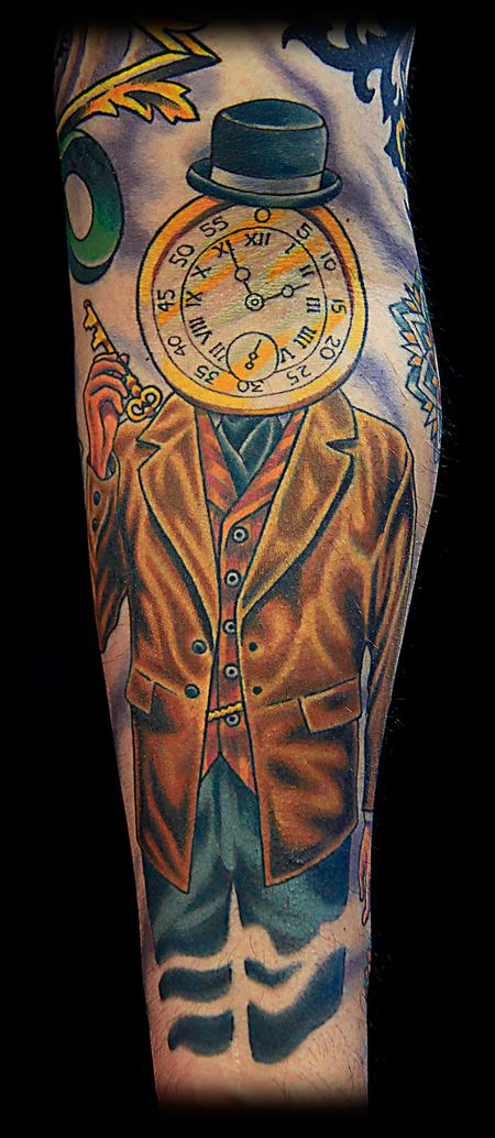 Tattoos - Gate and time keeper - 76638