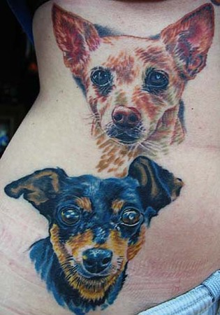 Tattoos - Dog Portraits - 35113