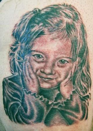 Tattoos - Child Portrait - 35118