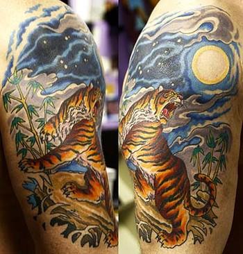 Tattoos - Jungle Tiger - 35121