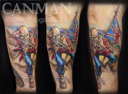 Tattoos - The Trooper - Iron Maiden - 70146