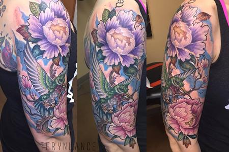 Tattoos - Hummingbird - 122990