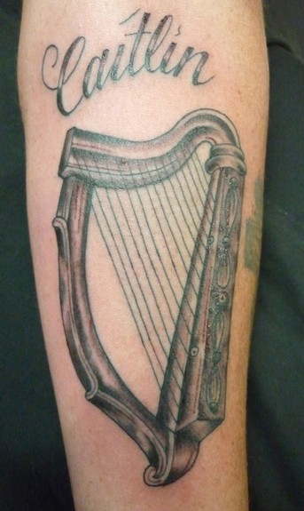 Scott Bainbridge - Harp Tattoo