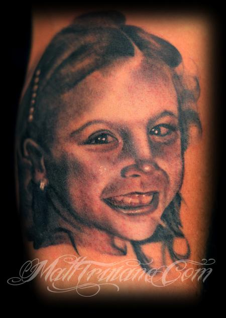 Tattoos - Daughter's Portrait - 60217