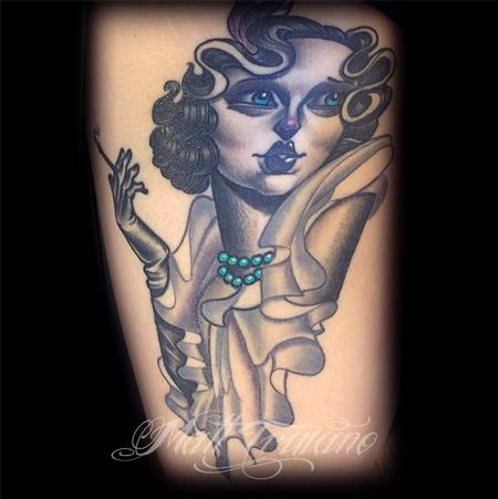 Tattoos - flapper - 106175