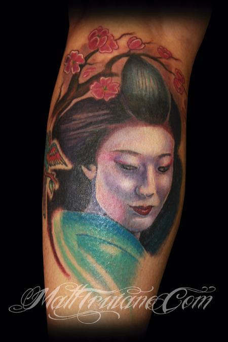 Tattoos - Geisha  - 60218