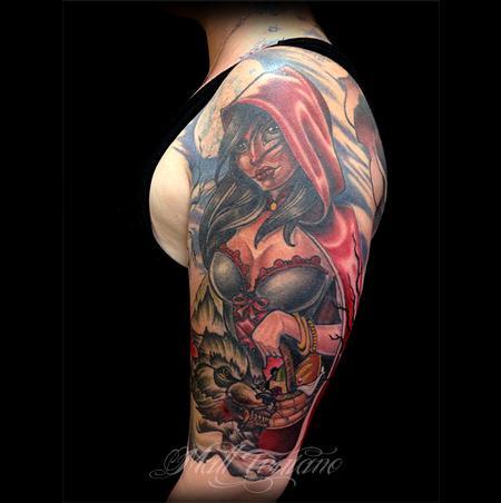Tattoos - Red - 80894