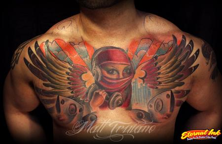 Tattoos - Salars chest - 63345