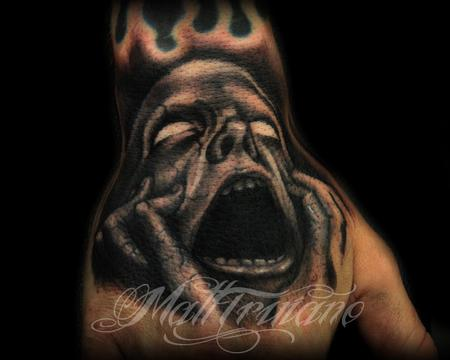 Tattoos - Screaming Face - 60577