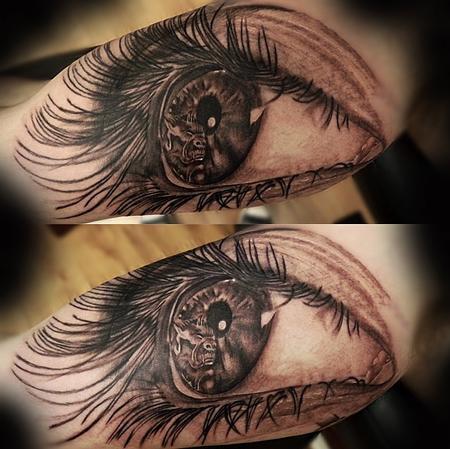 Tattoos - Realistic Eye - 94491
